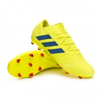 Bota  adidas Nemeziz 18.2 FG Solar yellow-Football blue-Active red
