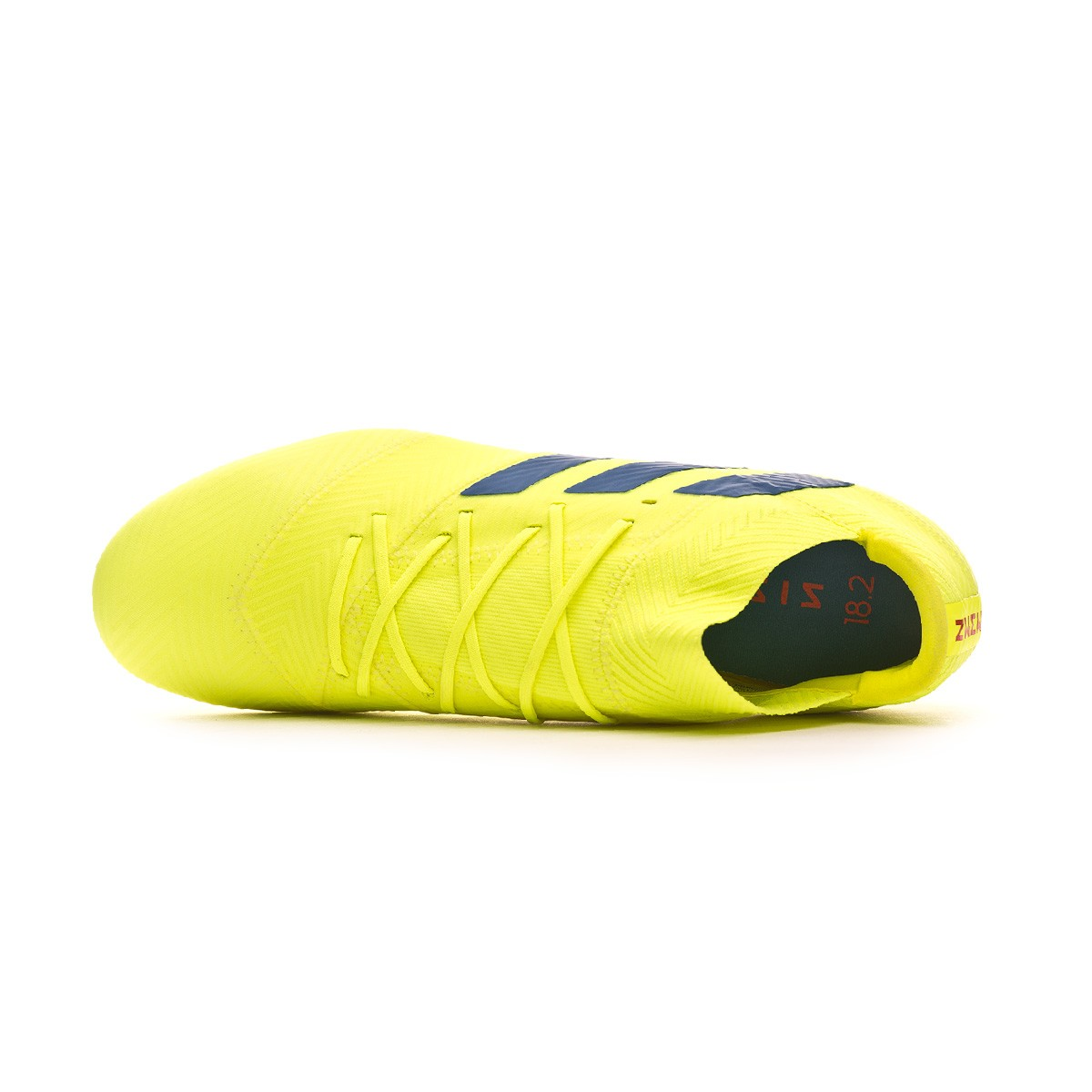 1c567444adc Football Boots adidas Nemeziz 18.2 FG Solar yellow-Football blue-Active red  - Football store Fútbol Emotion