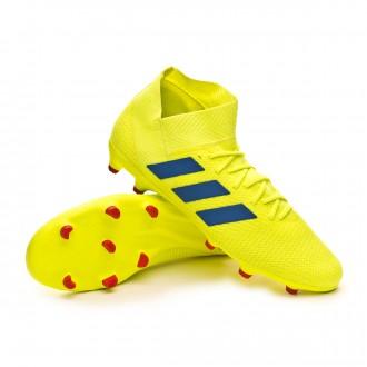 Bota  adidas Nemeziz 18.3 FG Solar yellow-Football blue-Active red