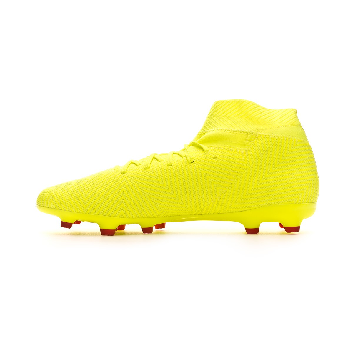 27f4e0eb5c05 Football Boots adidas Nemeziz 18.3 FG Solar yellow-Football blue-Active red  - Football store Fútbol Emotion