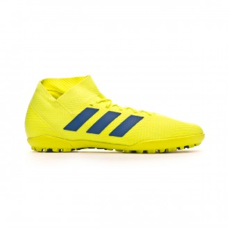 Zapatilla adidas Nemeziz Tango 18.3 Turf Solar yellow-Football blue-Active red