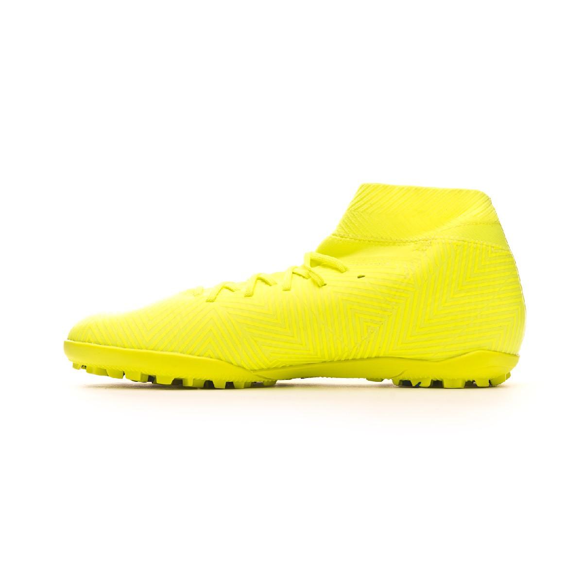 36d1ac2c906 Football Boot adidas Nemeziz Tango 18.3 Turf Solar yellow-Football blue-Active  red - Tienda de fútbol Fútbol Emotion
