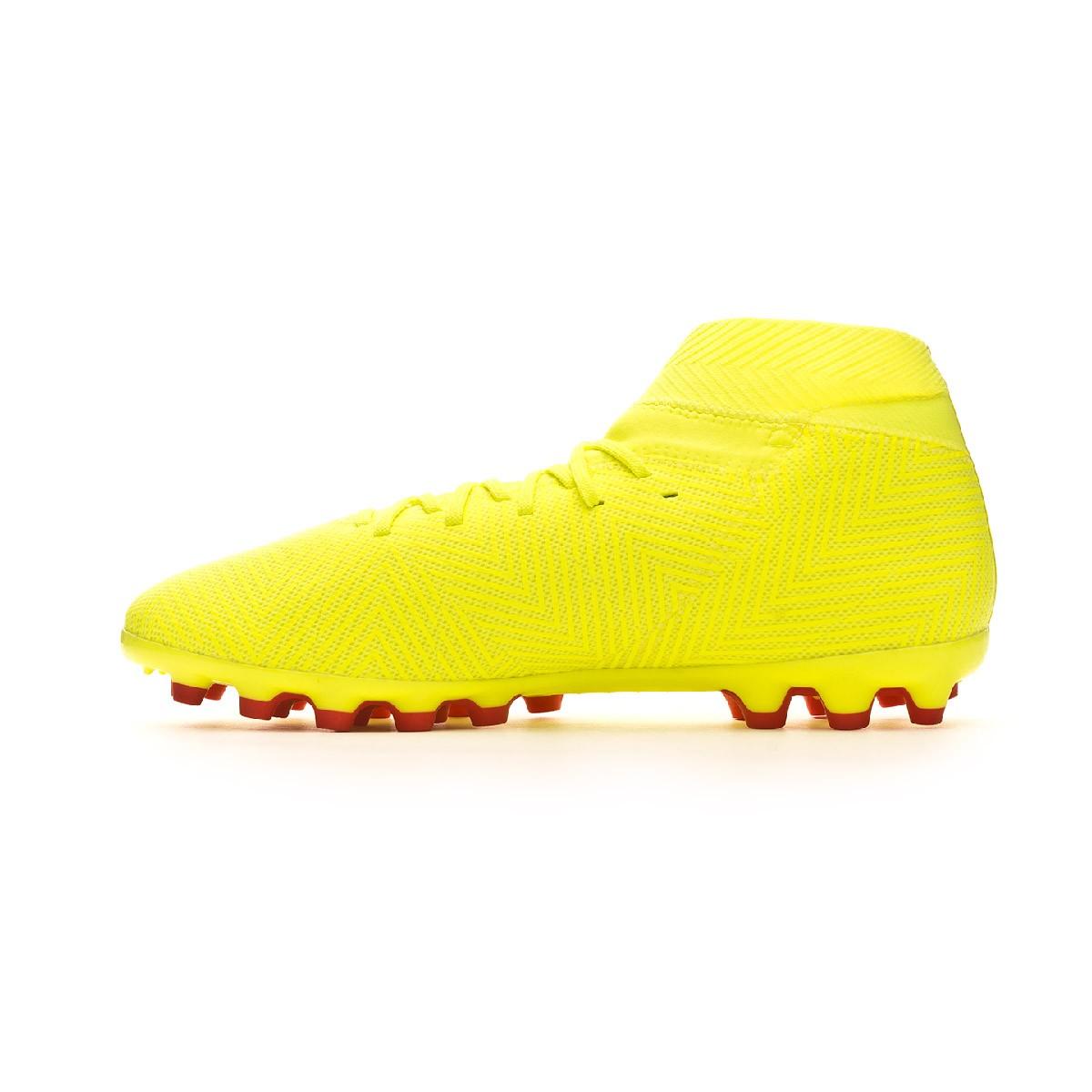b803bd041821 Football Boots adidas Nemeziz 18.3 AG Solar yellow-Football blue-Active red  - Football store Fútbol Emotion