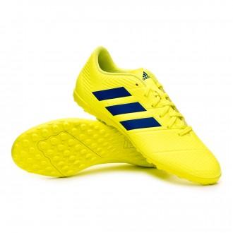 Zapatilla  adidas Nemeziz Tango 18.4 Turf Solar yellow-Football blue-Active red