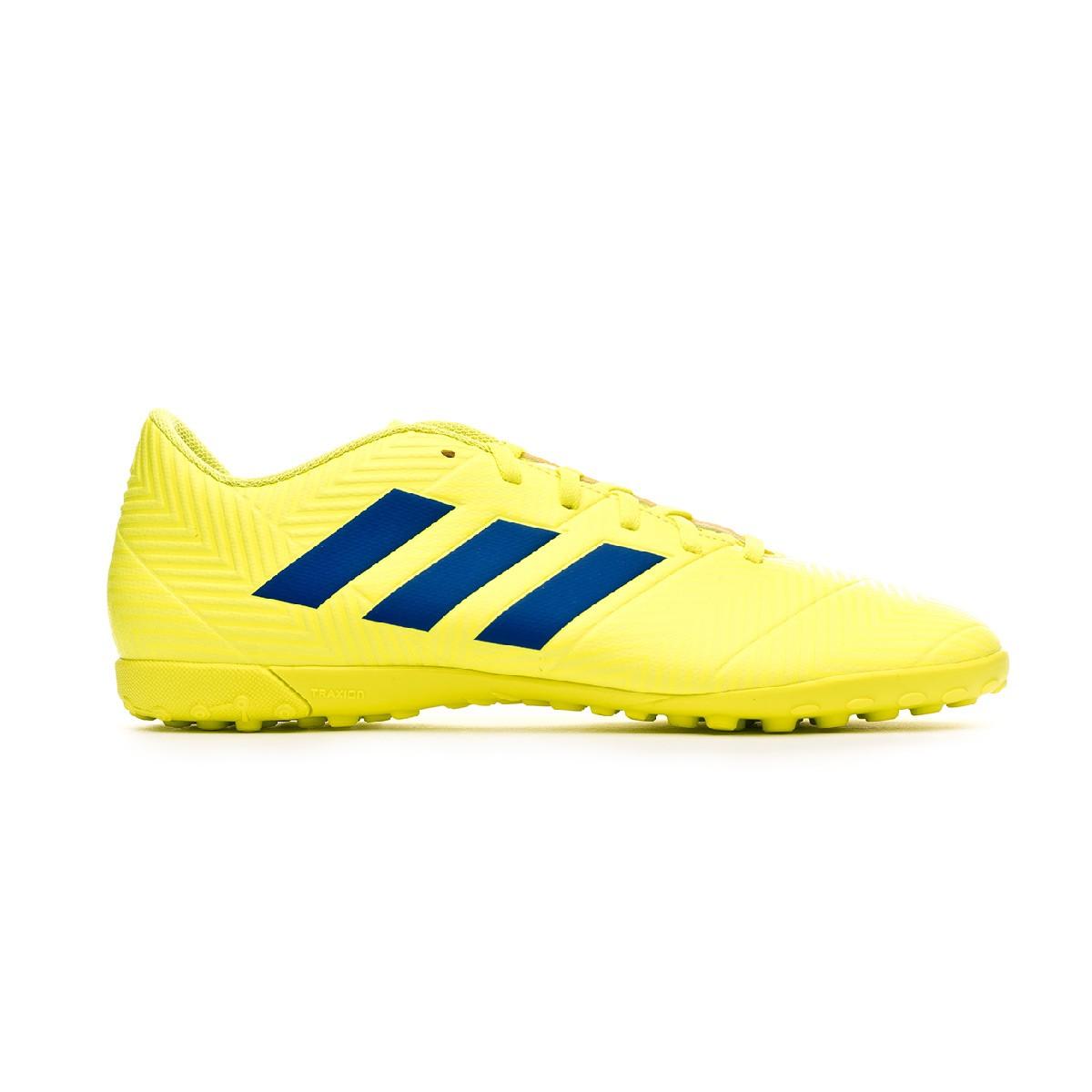 Zapatilla adidas Nemeziz Tango 18.4 Turf Solar yellow