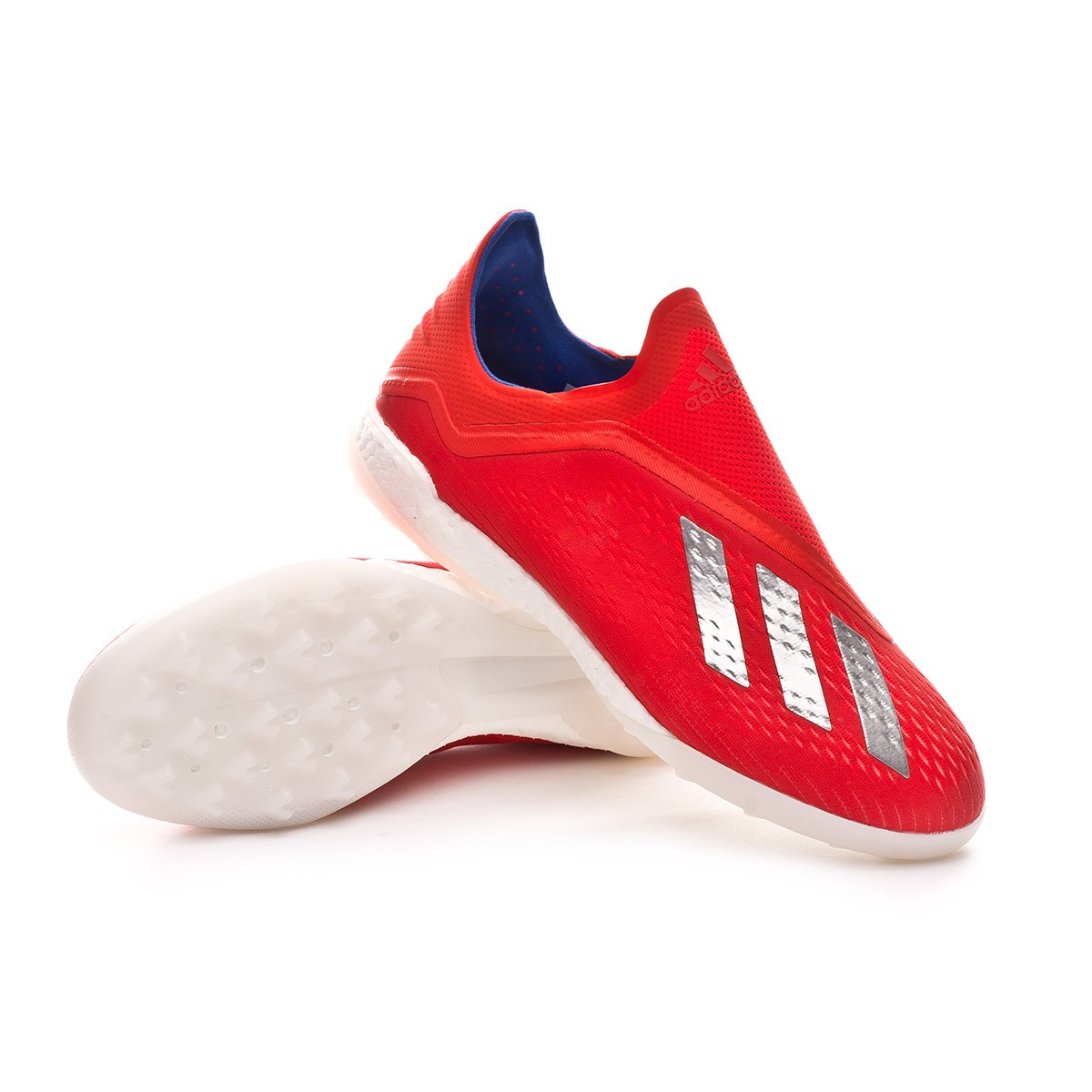 Zapatilla Active Silver Metallic 18Turf Red Tango Bold X Blue shrtdQC