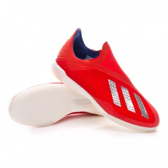 Zapatilla  adidas X Tango 18+ IN Active red-Silver metallic-Bold blue