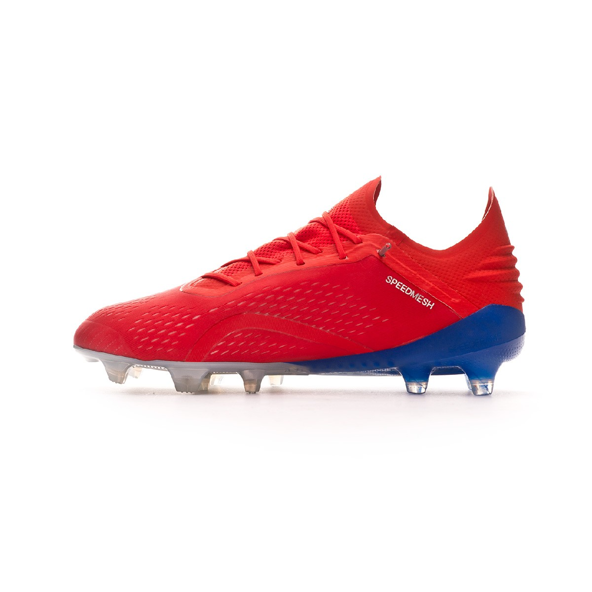 27c82833b Football Boots adidas X 18.1 FG Active red-Silver metallic-Bold blue -  Football store Fútbol Emotion