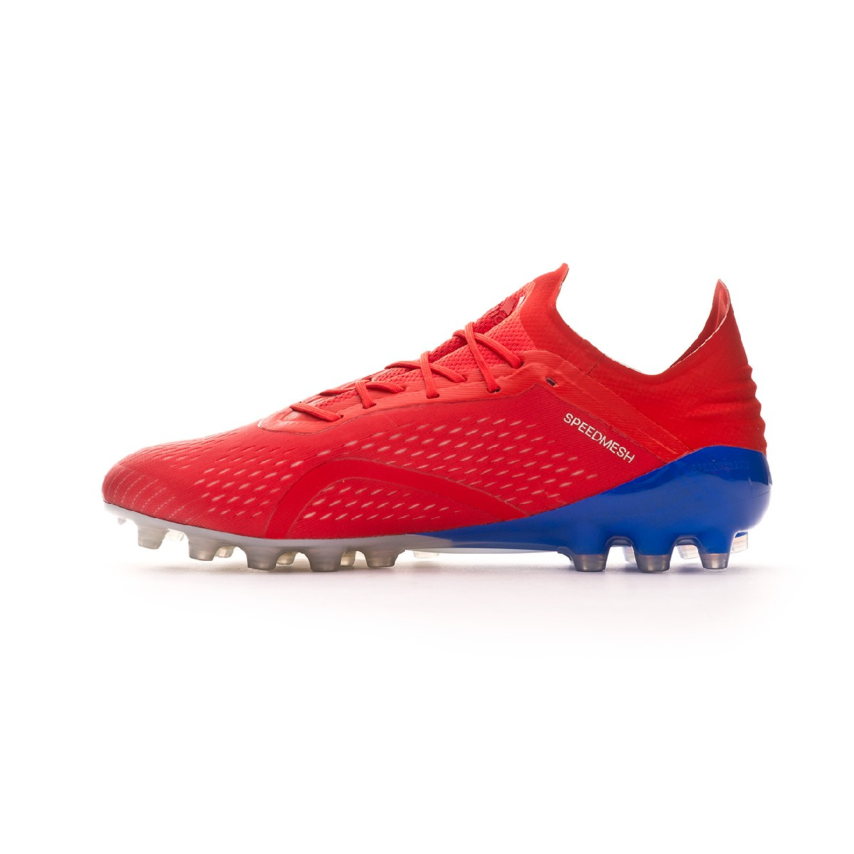 half off 4290b c785f Football Boots adidas X 18.1 AG Active red-Silver metallic-Bold blue -  Football store Fútbol Emotion