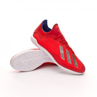 Zapatilla  adidas X Tango 18.3 IN Active red-Silver metallic-Bold blue