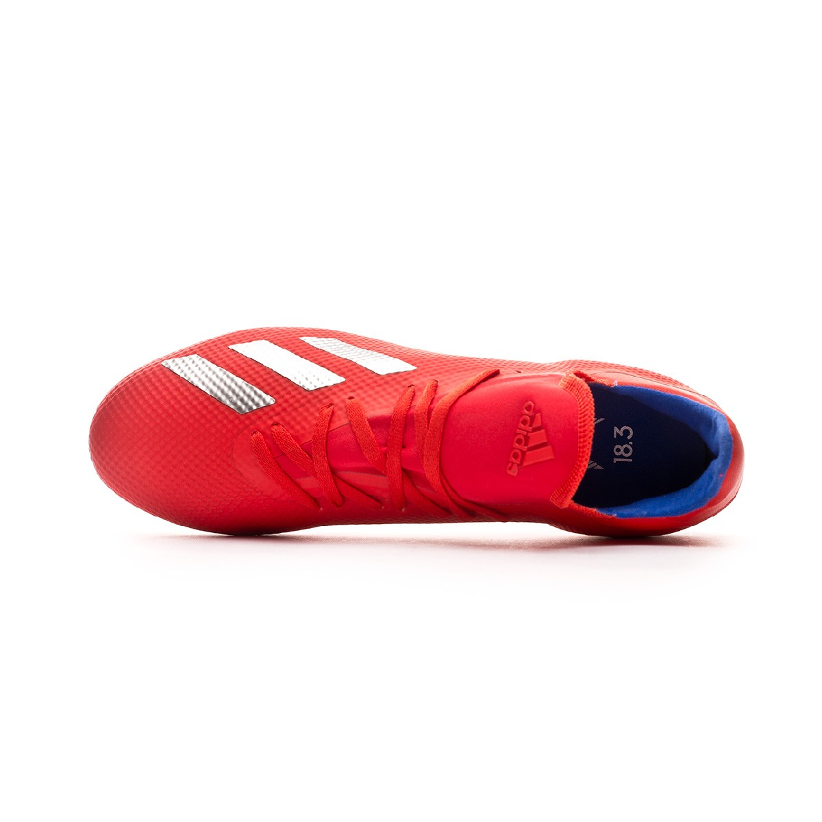 e64214feb4f17 Chuteira adidas X 18.3 AG Active red-Silver metallic-Bold blue - Loja de  futebol Fútbol Emotion