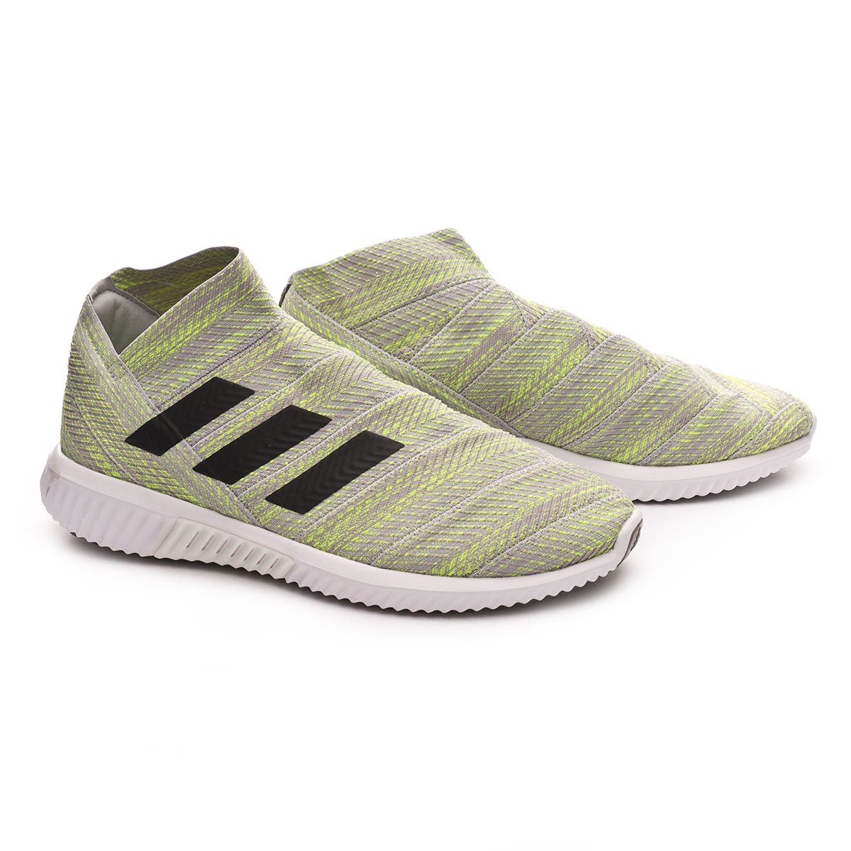 81aaa6eeb970 Trainers adidas Nemeziz Tango 18.1 TR Grey two-Core black-Solar yellow -  Football store Fútbol Emotion
