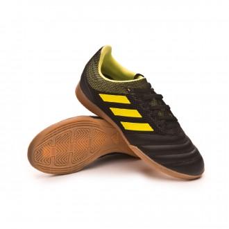 Zapatilla  adidas Copa 19.3 IN Sala Niño Core black-Solar yellow