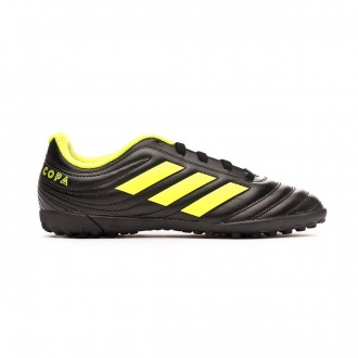 Tenis adidas Copa 19.4 Turf Niño Core black-Solar yellow-Core black