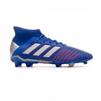 Bota  adidas Predator 19.1 FG Niño Bold blue-Silver metallic-Football blue