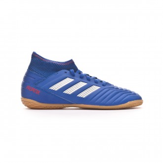 Zapatilla  adidas Predator Tango 19.3 IN Niño Bold blue-Silver metallic-Active red