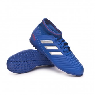 Scarpe  adidas Predator Tango 19.3 Turf Junior Bold blue-Silver metallic-Active red