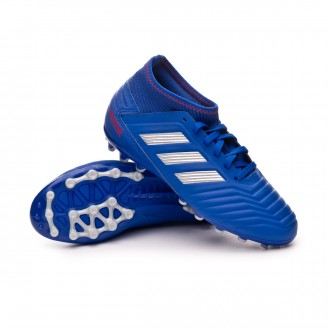 Scarpe   adidas Predator 19.3 AG Junior Bold blue-Silver metallic-Active red