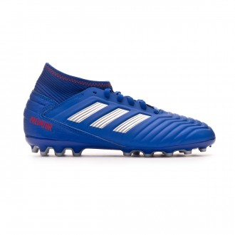 Football Boots  adidas Kids Predator 19.3 AG  Bold blue-Silver metallic-Active red