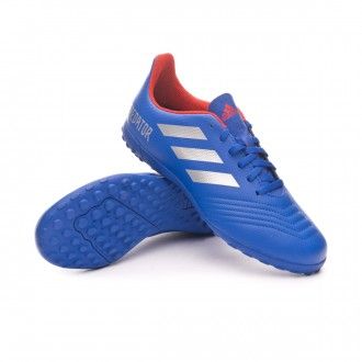 Scarpe  adidas Predator Tango 19.4 Turf Junior Bold blue-Silver metallic-Active red