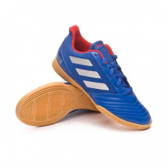 Zapatilla  adidas Predator Tango 19.4 IN Sala Niño Bold blue-Silver metallic-Active red