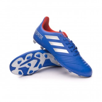 Scarpe   adidas Predator 19.4 FxG Junior Bold blue-Silver metallic-Active red