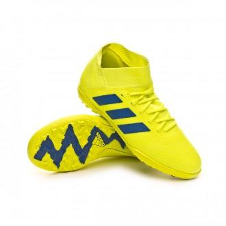 Zapatilla  adidas Nemeziz Tango 18.3 Turf Niño Solar yellow-Football blue-Active red