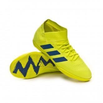 Zapatilla  adidas Nemeziz Tango 18.3 IN Niño Solar yellow-Football blue-Active red