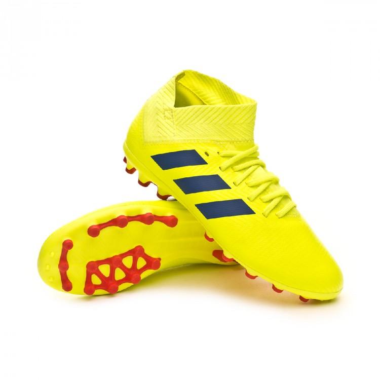 716bde970eddc Bota de fútbol adidas Nemeziz 18.3 AG Niño Solar yellow-Football ...