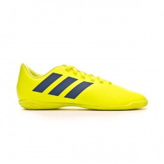 Tenis adidas Nemeziz Tango 18.4 IN Niño Solar yellow-Football blue-Active red