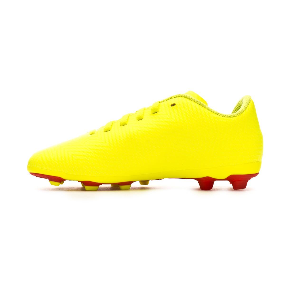 Dettagli su Adidas Scarpe Calcio Junior Nemeziz 18.4 FXG