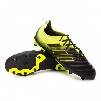 f86109fd0 Football Boots adidas Kids Copa 19.1 FG Core black-Core white-Solar yellow