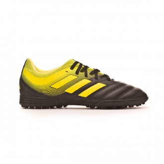 Football Boot  adidas Kids Copa Tango 19.3 Turf Core black-Solar yellow