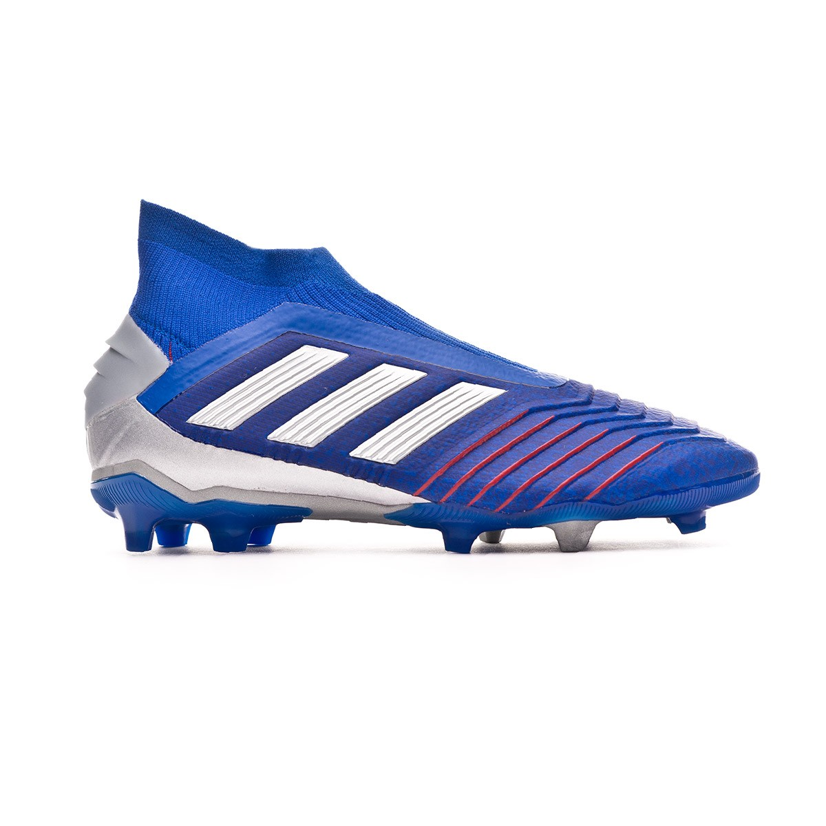 7a8b2c7d6d ... finest selection 756f5 6a491 Boot adidas Kids Predator 19+ FG Bold  blue-Silver metallic