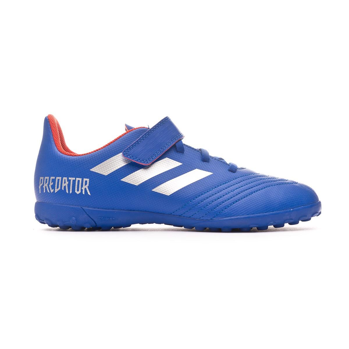 16781e777 Football Boot adidas Predator Tango 19.4 Turf H  Bold blue-Silver  metallic-Active red - Football store Fútbol Emotion