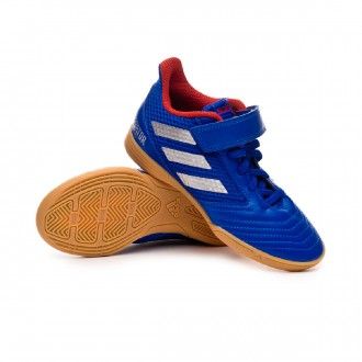 Futsal Boot  adidas Predator Tango 19.4 IN Sala Niño Bold blue-Silver metallic-Active red