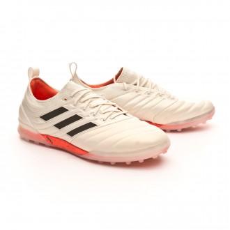 Sapatilhas  adidas Copa 19.1 Turf Off white-Core black-Solar red