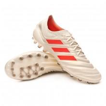 Boot Copa 19.1 AG Off white-Solar red-Core black