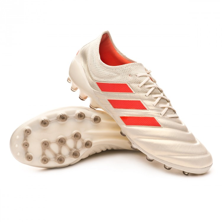 best sneakers 48a19 a17db bota-adidas-copa-19.1-ag-off-white-solar-