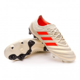 Scarpe   adidas Copa 19.1 FG Off white-Solar red-Core black