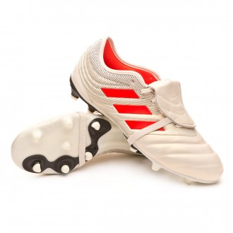 Scarpe   adidas Copa Gloro 19.2 FG Off white-Solar red-Core black