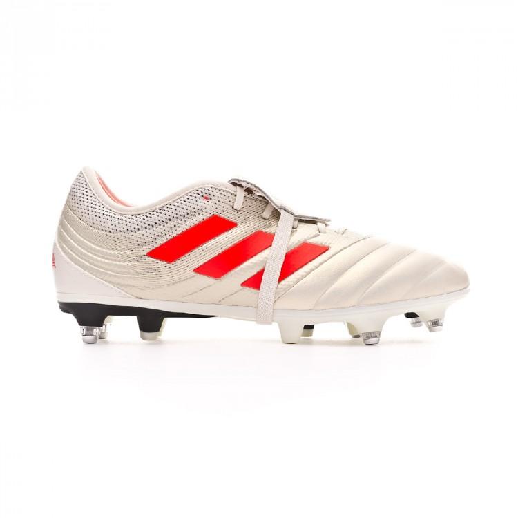 Bota de fútbol adidas Copa Gloro 19.2 SG Off white-Solar red-Core ... e8f8898935ea8