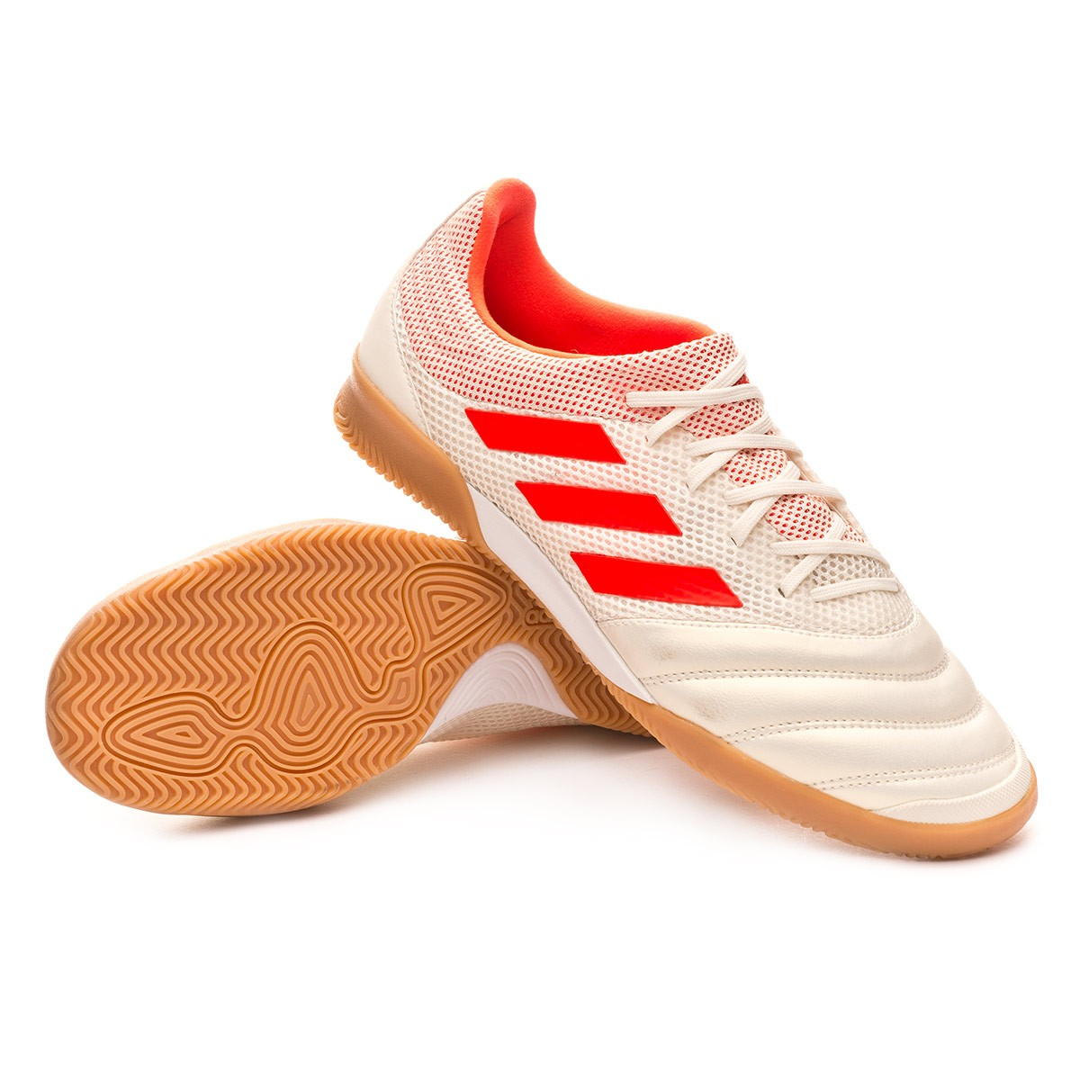 best service eb9af b5bb4 Tenis adidas Copa Tango 19.3 IN Sala Off white-Solar red-Gum - Soloporteros  es ahora Fútbol Emotion
