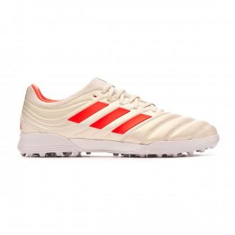 Chaussure de football adidas Copa Tango 19.3 Turf Off white-Solar red-White