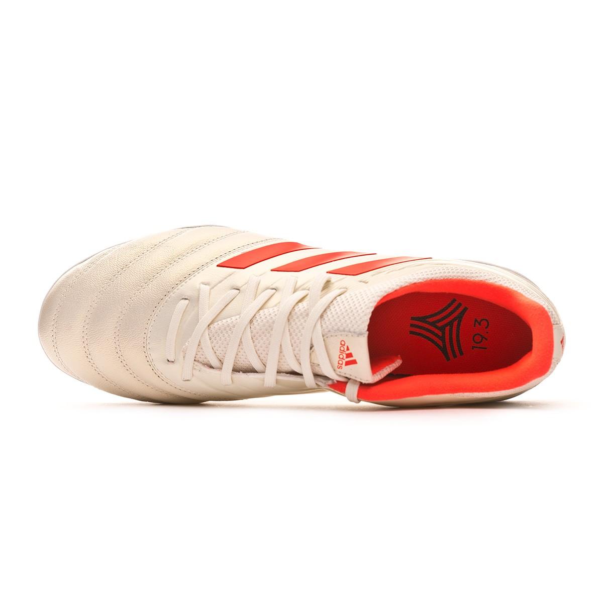 Chaussure de football adidas Copa Tango 19.3 Turf Off white