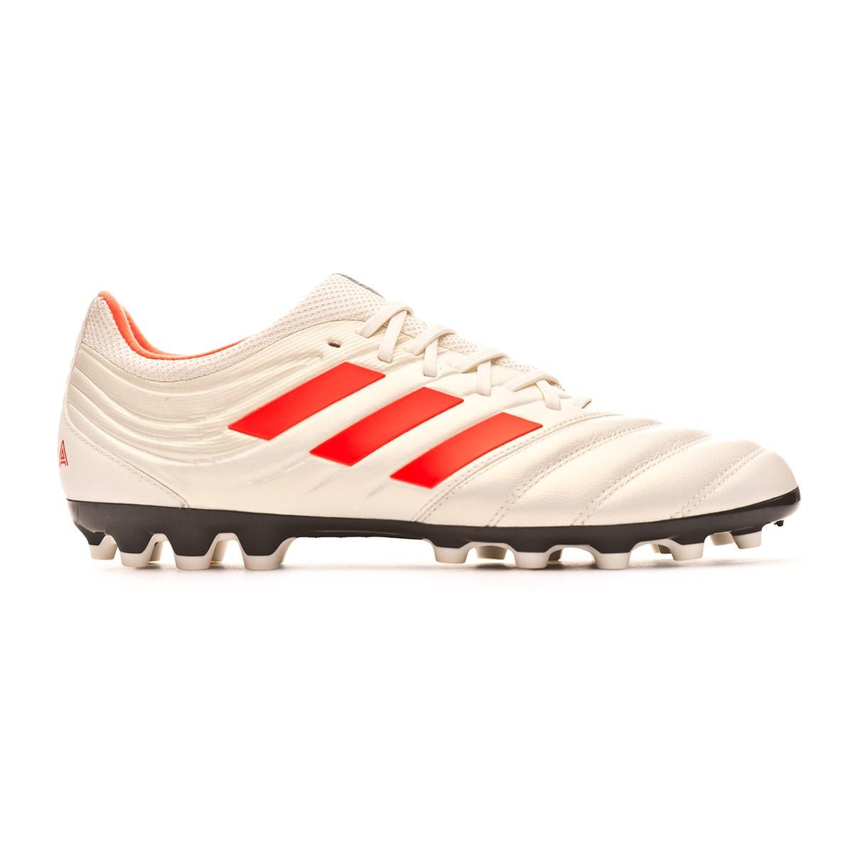 Chaussure de foot adidas Copa 19.3 FG Off white Solar red