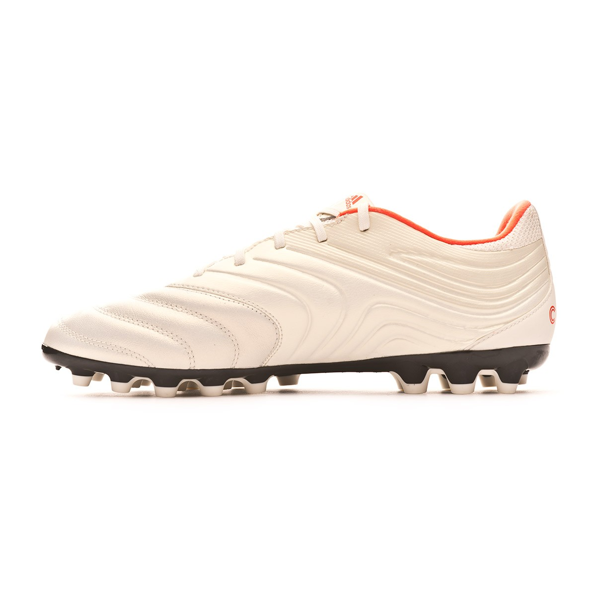 68ea80263 Scarpe adidas Copa 19.3 AG Off white-Solar red-Core black - Negozio di  calcio Fútbol Emotion