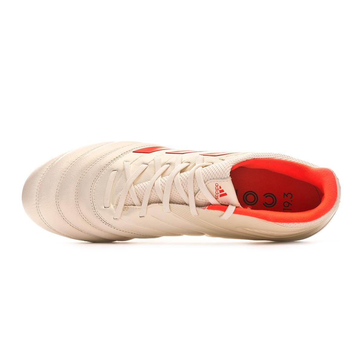 buy popular 3af74 74533 Zapatos de fútbol adidas Copa 19.3 SG Off white-Solar red-Core black -  Soloporteros es ahora Fútbol Emotion
