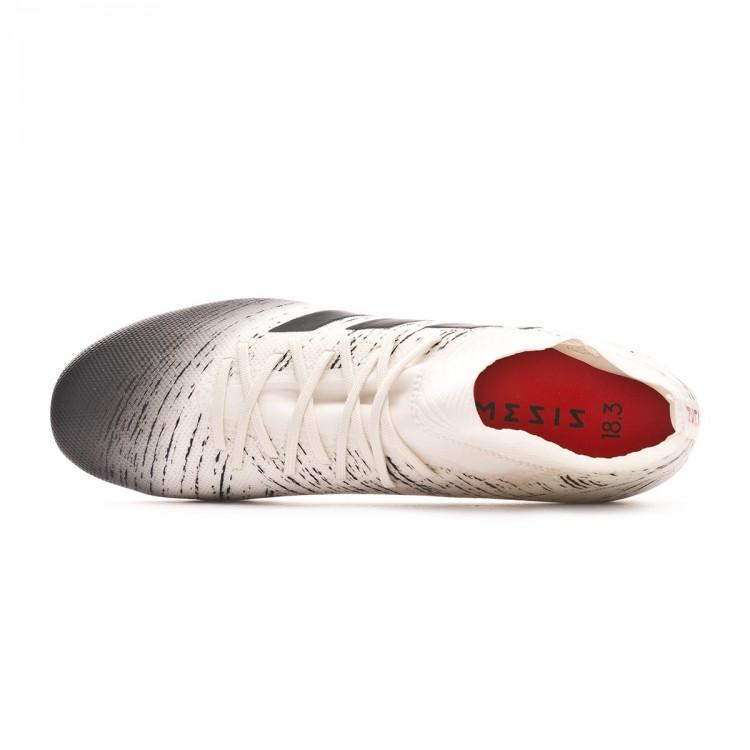 Bota de fútbol adidas Nemeziz 18.3 FG Off white-Core black-Active ... fbd2c385da8af