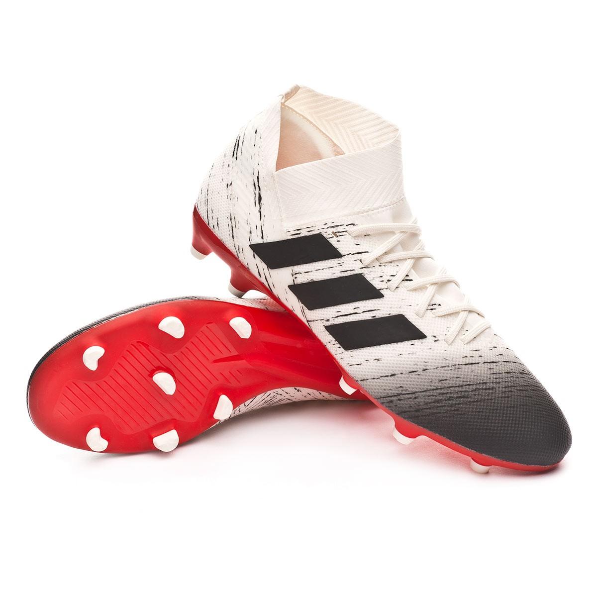 ... Bota Nemeziz 18.3 FG Off white-Core black-Active red. Categorías de la Bota  de fútbol 1c7b755decf18